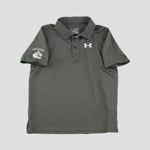 Canucks Youth Under Armour Matchplay Polo (Grey)