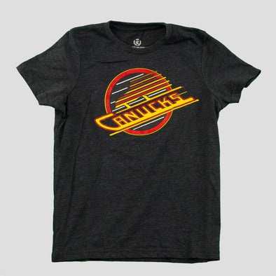 Vancouver Canucks Youth Campus Crew Skate Dunk T-Shirt