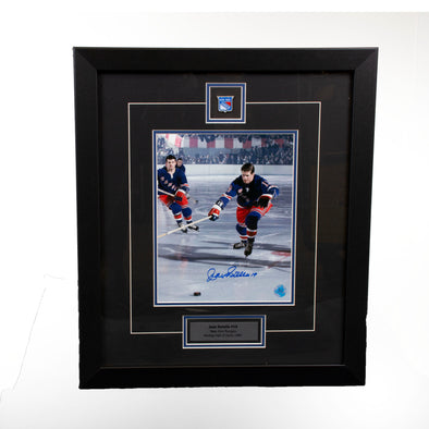 Jean Ratelle Rangers Original Six Hockey 8x10 - Vanbase