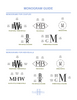 Ellis Hill monogram guide