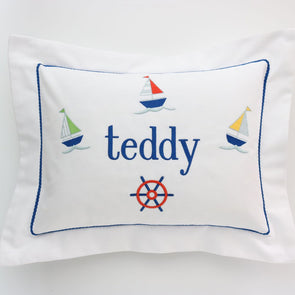 Baby Boy Boudoir Pillow