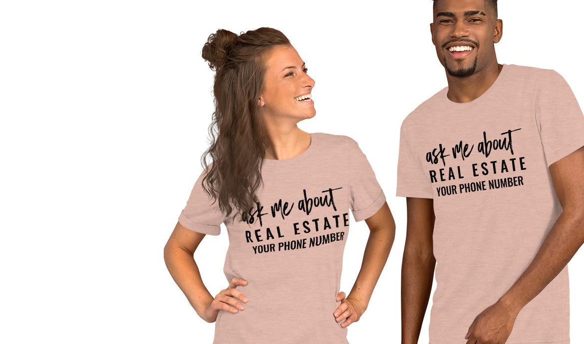 REAL ESTATE SHIRTS