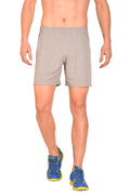 Red Cheri Football Shorts - Grey