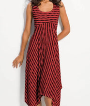 Load image into Gallery viewer, Striped Dress Sexy Size Fat MM Dress