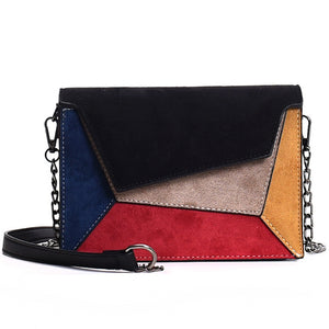 Joker Crossbody Fashion Scrub Chain Shoulder Bag