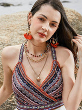 Load image into Gallery viewer, Boho Shell Tassel Earring And Necklace Accessories