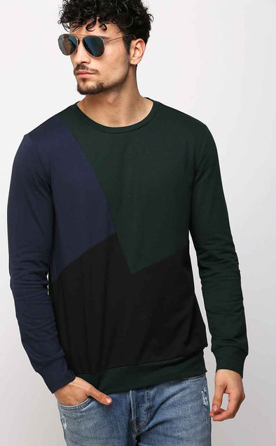 Designer Front Men's Full Sleeve T Shirt