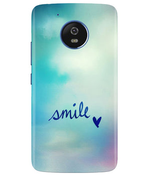 Just Smile Moto G5 Cover