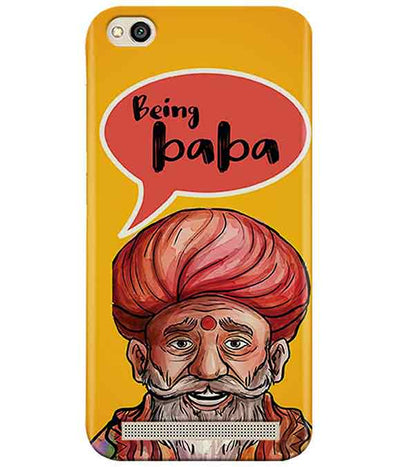Being Baba Redmi 5A Cover