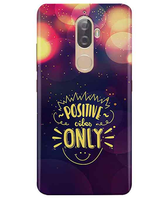 Positive Vibes Lenovo K8 Plus Cover