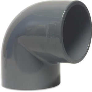 Mega Elbow 90 Degree - Imperial Grey
