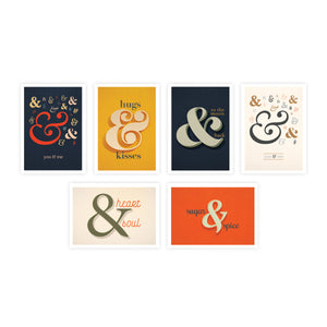 Ampersand Boxed Set of 6