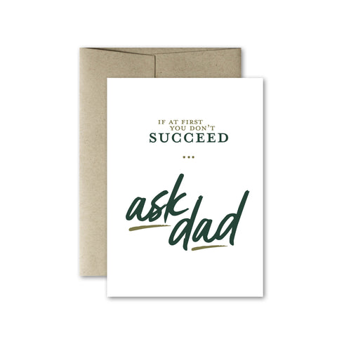 Ask Dad Card