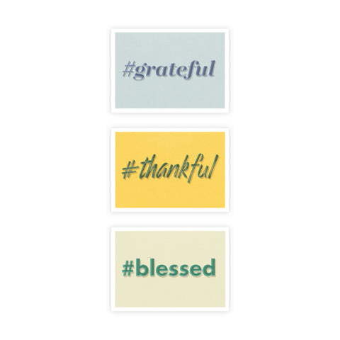 Thank You Hashtag Boxed Set of 6