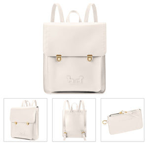 PU School Backpack with Small Purse - MOMMORE