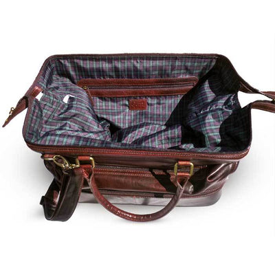 The Indiana Leather Adventure Duffel