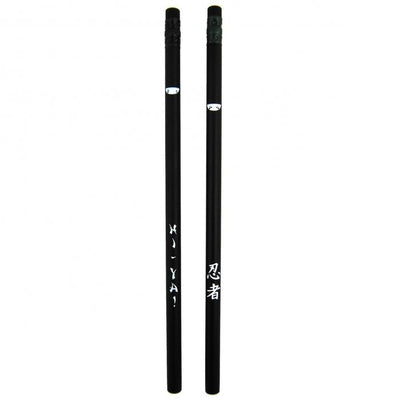 Ninja Black Pencils (Set of 12)