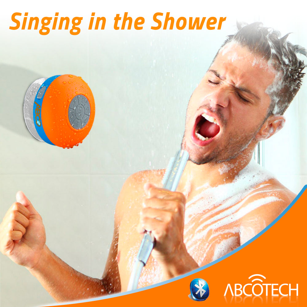 Bluetooth Shower Speaker with FM RADIO