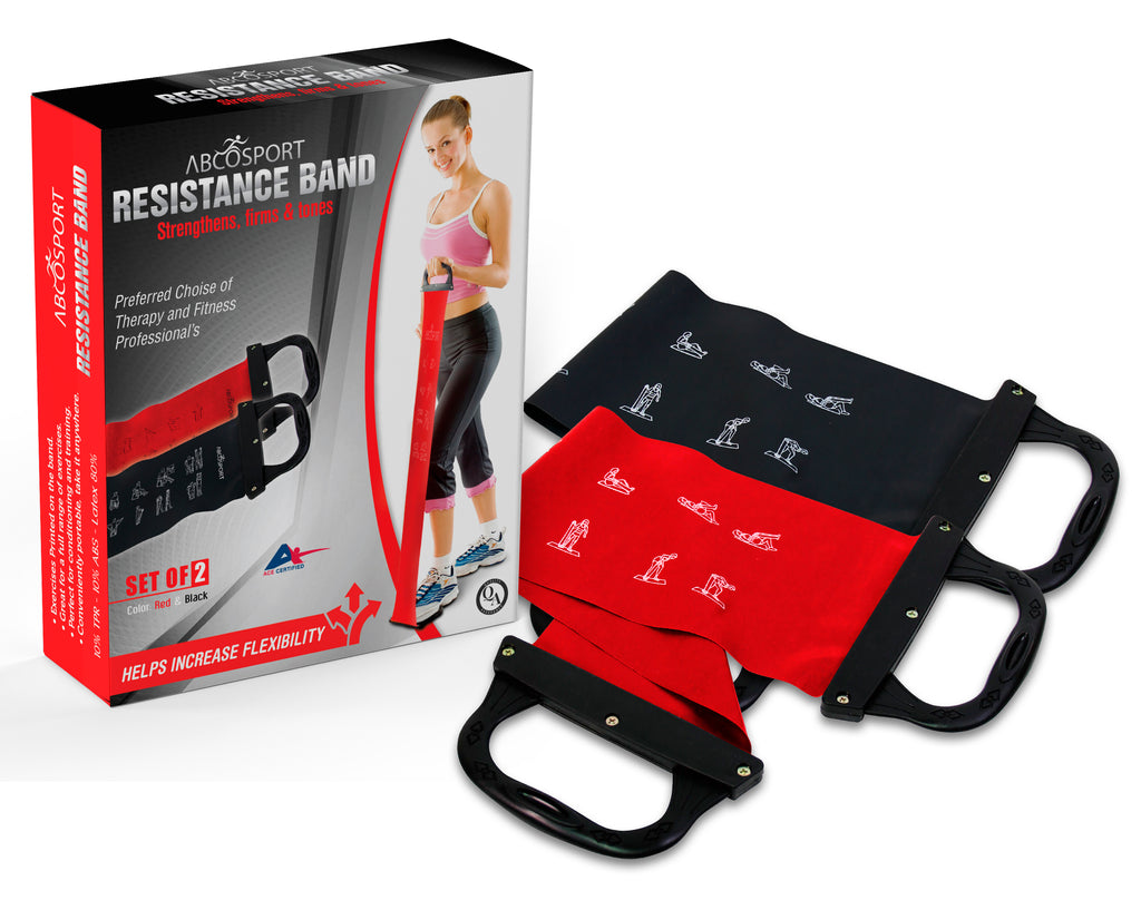 Resistance Bands for Strength Training - Set of 2