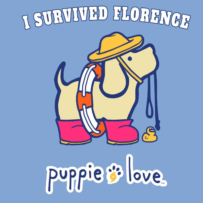 Puppie Love™ Helps Dogs Displaced by Hurricane Florence