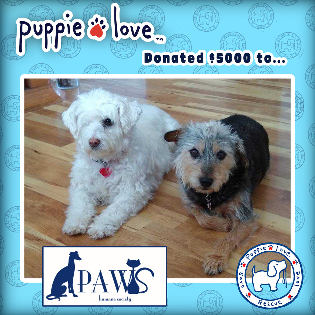 PUPPIE LOVE® HELPS PUPS IN WINTER VORTEX