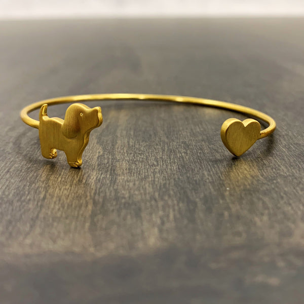 PUPPIE BANGLE, GOLD - Puppie Love