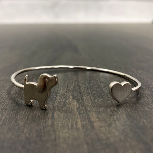 PUPPIE BANGLE, SILVER - Puppie Love