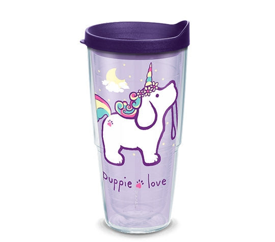 UNICORN PUP 24oz TUMBLER - Puppie Love