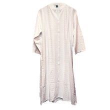 IE Plus Size White Kurta 1