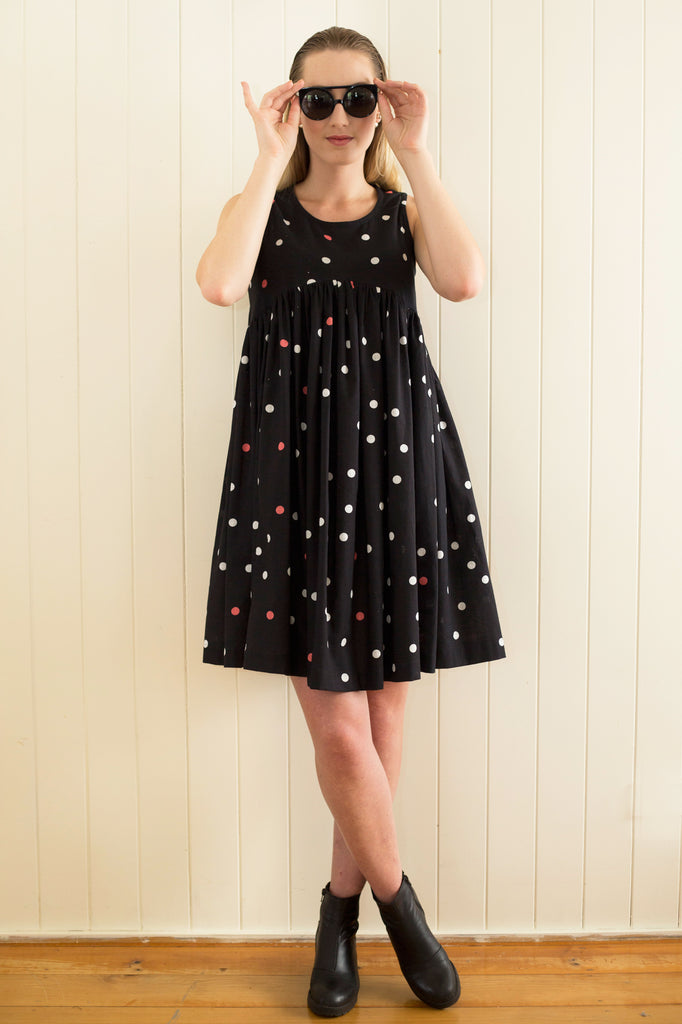 Go Anywhere Dress in Spot