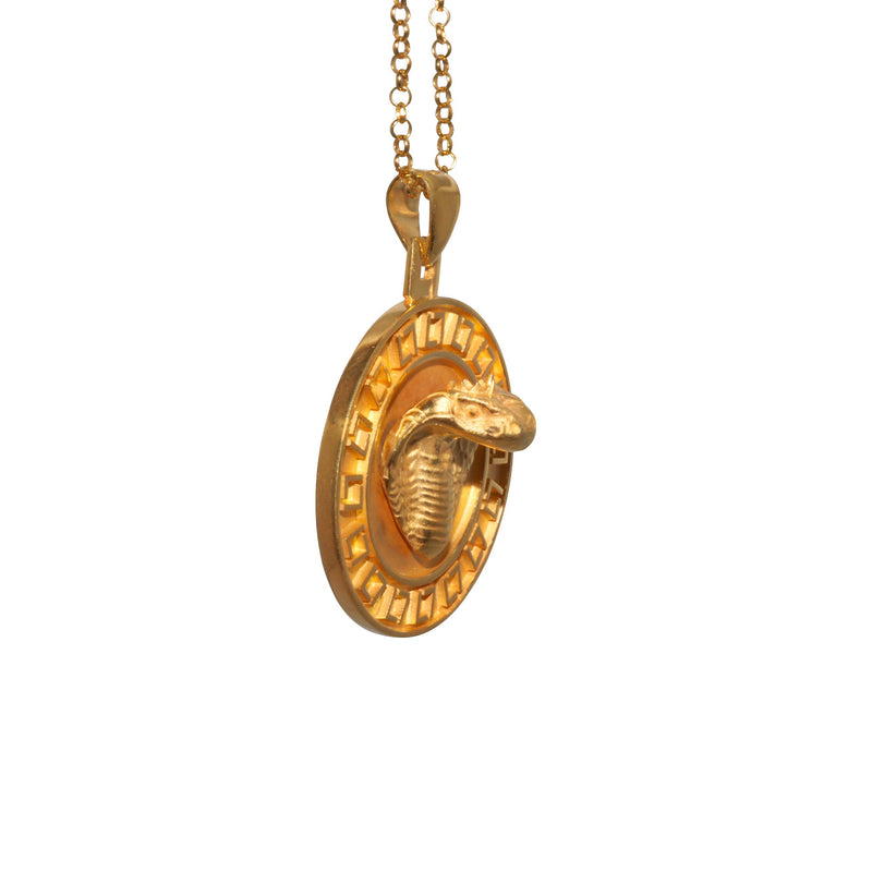 Necklace with Cobra Pendant