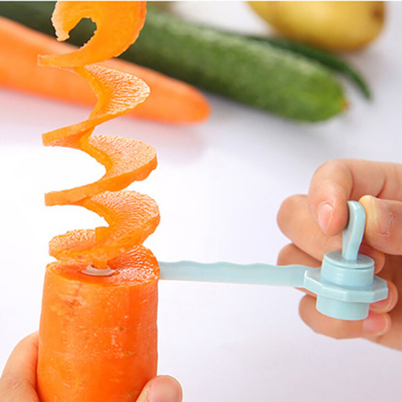 1pcs Magic Potato Cutter Carrot Spiral Slicer Cutting Models Kitchen Cooking Tools Fruit Vegetable Curls 0.485