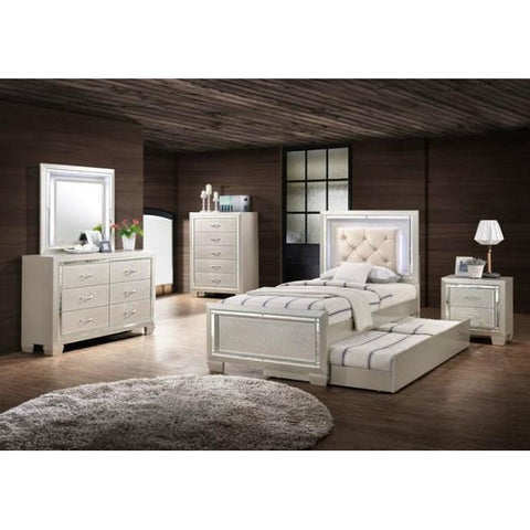 Element Platinum Youth 5 pc Twin Bedroom set