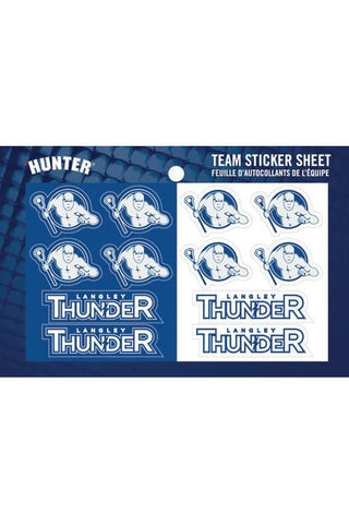 Thunder Sticker Set