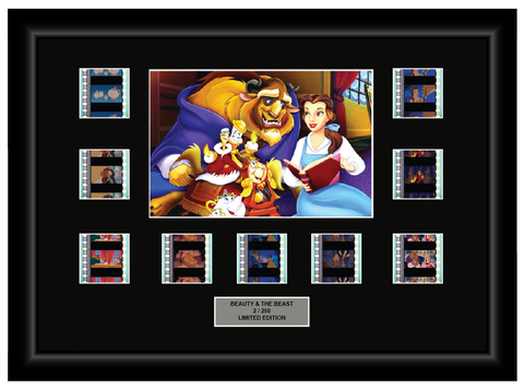 Beauty and the Beast (1991) - 9 Cell Display Film Display