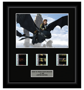 How to Train Your Dragon (2010) - 3 Cell Display (Style 2)