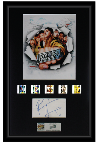 Kevin Smith - Jay and Silent Bob (2001) Autographed Film Cell Display (1)