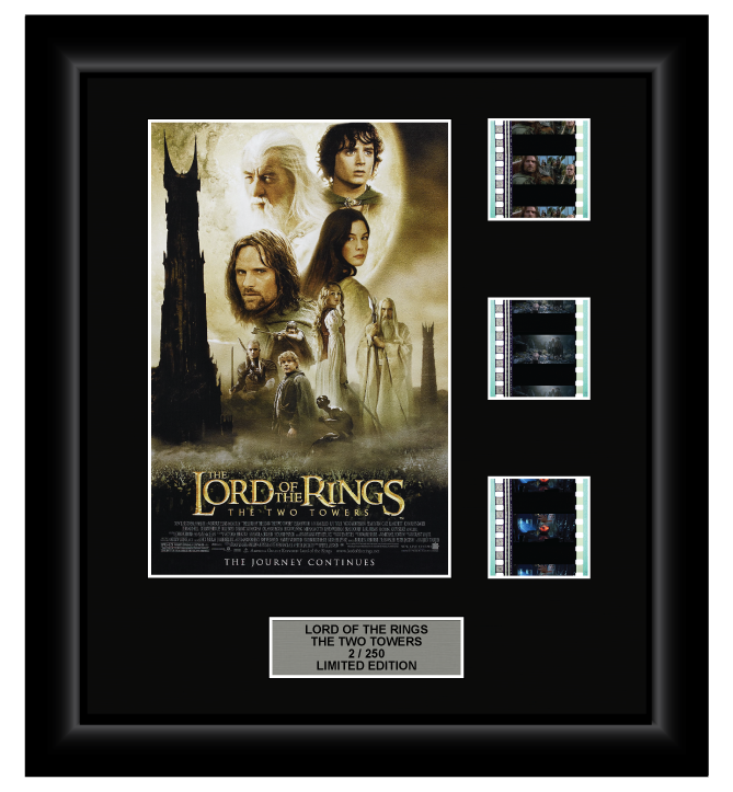 Lord of the Rings: The Two Towers (2002) - 3 Cell Display