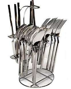 24 piece cutlery set