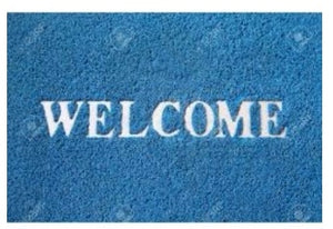 Durable WELCOME Foot Mat