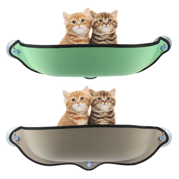 $53.75 - CAT WINDOW BED 1KG (2) TRAVEL PETS