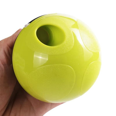 $29.95 - DOG TREAT DISPENSING INTERACTIVE BALL (4) TRAVEL PETS