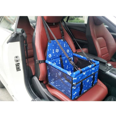 $59.95 - PET CAR SEAT BOOSTER FOR DOGS CATS & SMALL ANIMALS (17) TRAVEL PETS