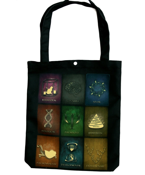 Fields of Psychology Tote bag