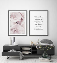 Flower Motivational Print - Blim & Blum