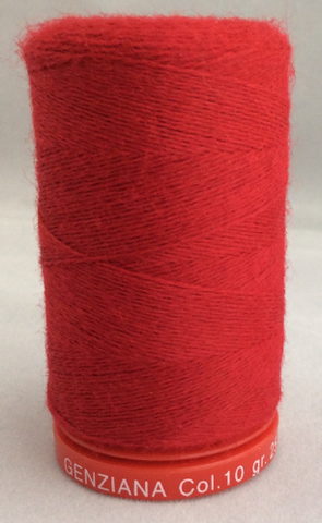 Genziana Wool Thread - Deep Red 010