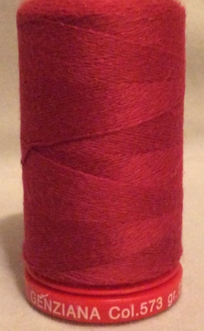 Genziana Wool Thread - Pinkish Red 573
