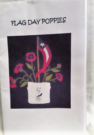 Flag Day Poppies Pattern