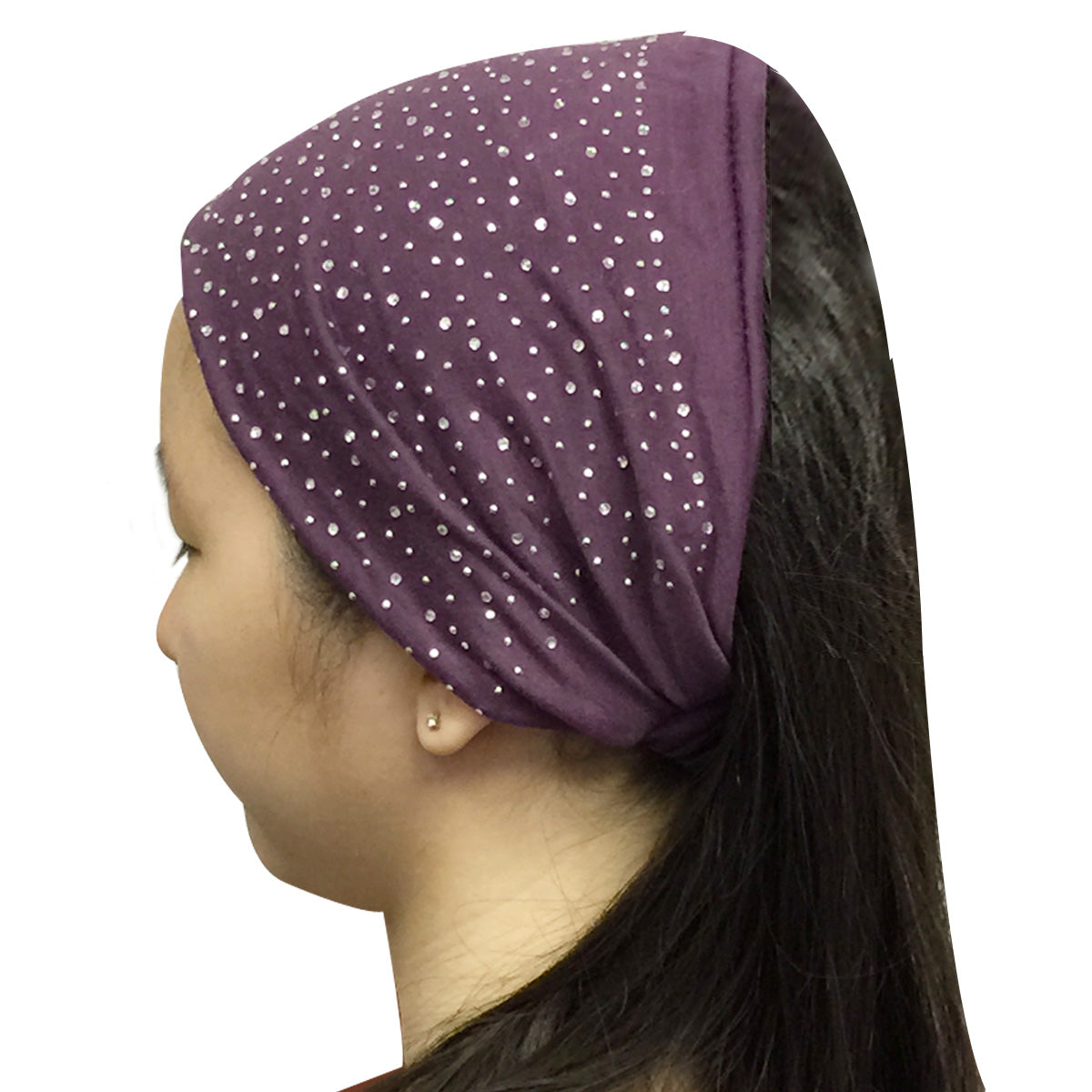 Wrapables Wide Headband Hair Accessory with Sparkles for Dress Up
