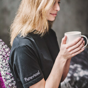 'You're Phenomenal' Empowering Sleep T - Black